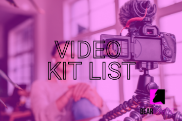 Our recommended video kit list