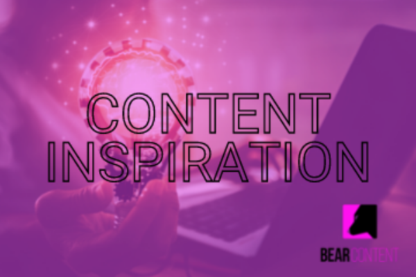 Finding content inspiration with these 3 tips