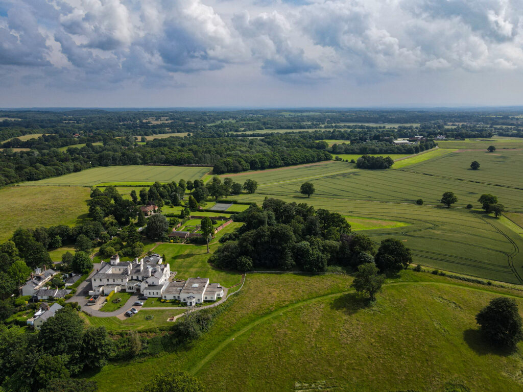 Drone photography in Surrey