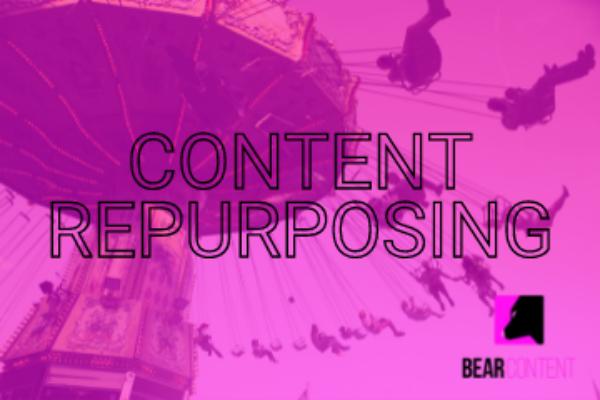 Content is king, but repurposing is queen